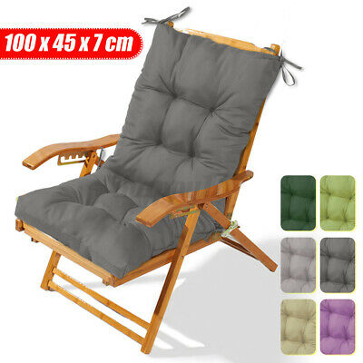 £20.28 • Buy Outdoor Indoor High Back Dining Chair Cushion Seat Cushions Patio Garden ☥