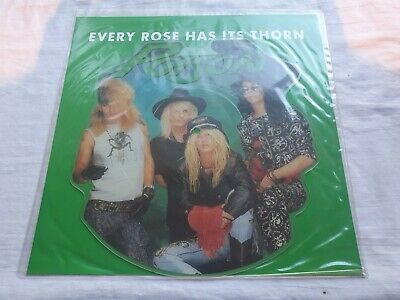 £10 • Buy Poison  Every Rose Has Its Thorn  Shaped Picture Disc  Mint