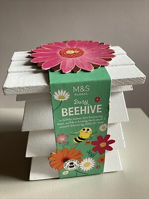 £8.50 • Buy BN M&S Beehive Kit Royal Horticultural Society Plants For Pollinators