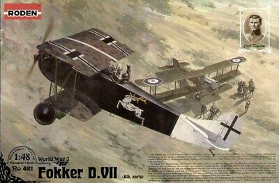 £25.95 • Buy Roden 421 Fokker D.VII Alb (early) 1:48 Aircraft Model Kit
