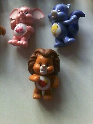 £3 • Buy Care Bears,Plastic Figures 9,Excellent Condition