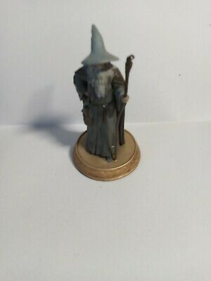 £2.99 • Buy Eaglemoss Hobbit Figure GANDALF WITH HAT Lord Of The Rings FIGURE ONLY