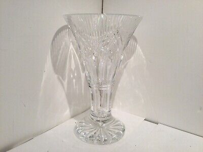 """£19.06 • Buy Beautiful 10""""signed Waterford Glass Vase"""