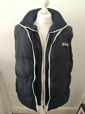 £14.99 • Buy Lee Cooper Quilted Gilet With Hood Size XL