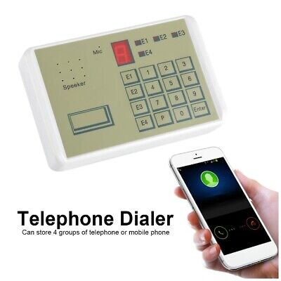 £27.99 • Buy 12V Phone Wired Voice Auto-dialer Burglar Security House Alarm System 20S New