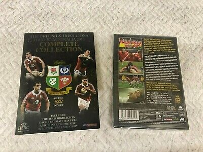 £2.99 • Buy  The British And Irish Lions Complete Collection Boxset Dvd New  Sealed 2013