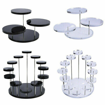 £5.29 • Buy Acrylic Display Stand For Jewelry Cake Dessert Rack Party Decor
