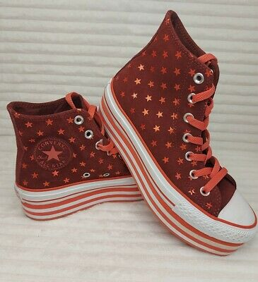 £29.99 • Buy Converse All Star SIZE 4.5  EVA Lift Hi Platform Trainers *Worn Once* IMMACULATE