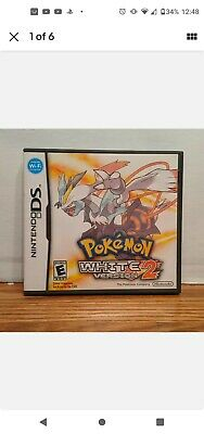 $130 • Buy Pokemon White Version 2 AUTHENTIC Game + Case. Tested! (Nintendo DS, 2012)