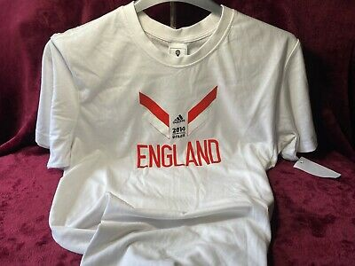 £9.99 • Buy Adidas England World Cup 2014 T Shirt Size L New And Unworn.