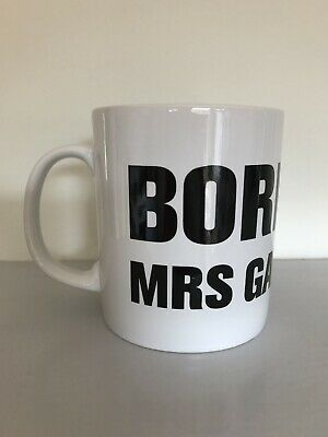 £10 • Buy Official Born To Be Mrs Gary Barlow 2011/2012 Solo Tour Mug NEW Take That