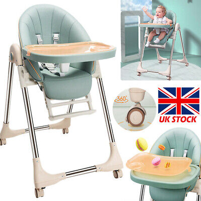£62.64 • Buy UK Adjustable 4-In-1 Baby Highchair Infant High Feeding Seat Toddler Table Chair