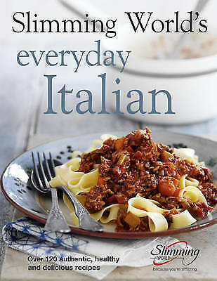 £3.10 • Buy Slimming World's Everyday Italian: Over 120 Fresh, Healthy And Delicious Recipe…