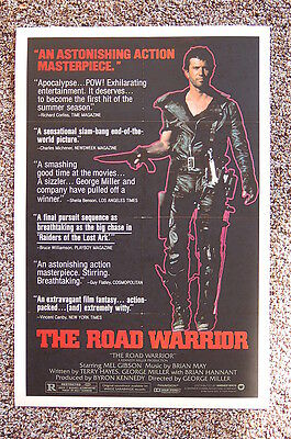£2.18 • Buy The Road Warrior Lobby Card Movie Poster Mad Max Mel Gibson