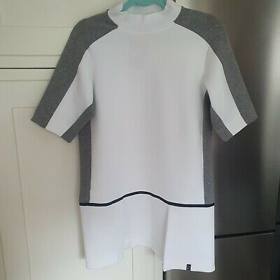 £19.99 • Buy Womens Nike Tennis Dress. White And Grey. Size S.