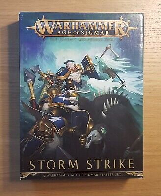 £14.99 • Buy Warhammer Age Of Sigmar Storm Strike Starter Set Figures Built & Ready To Paint