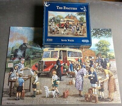 """£3.49 • Buy Nostalgic """"The Evacuees"""" 1000 Piece Jigsaw Puzzle, Gibsons"""