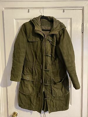 £36 • Buy Ladies Parka Coat Size 14. By South Winter Coat Heavy And Warm Good Conditon