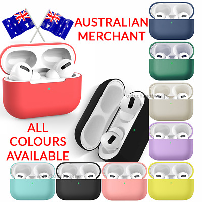 AU5.50 • Buy AirPods Pro Case Case Cover Silicone Shockproof Slim Skin For Apple Airpod 3 4