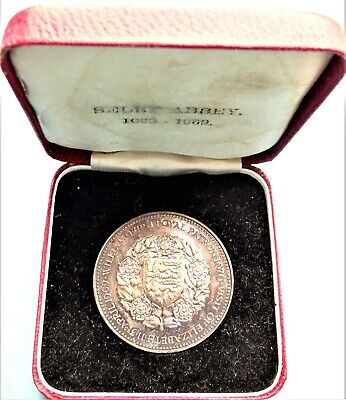 £29.99 • Buy Selby Abby 900th Anniversary Silver Medal 1969 .958 Silver John Pinches 1969