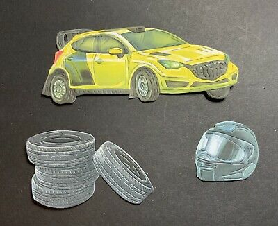 £2.90 • Buy Tattered Lace Life On The Track Race Car, Die Cuts Card Making