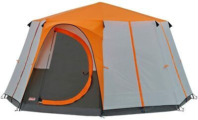 £55 • Buy Coleman Tent Octagon Festival Dome 6 Person Family Camping Waterproof