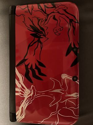 $215 • Buy Nintendo 3DS XL Pokemon X And Y Limited Edition XY Red Console TESTED WORKS NICE