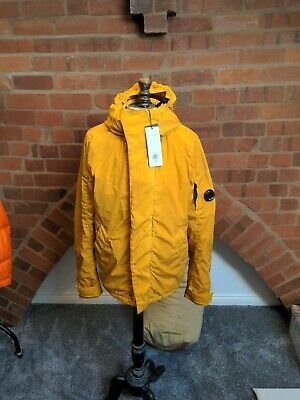 £325 • Buy BNWT CP COMPANY NYCRA RE-COLOUR LENS JACKET IN YELLOW. Rrp £625 Size 48 (M)