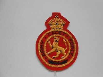 £24 • Buy Kings Crown    ARMY CADET FORCE  Formation Sign Unit Patch  ACF  Unused Nr Mint