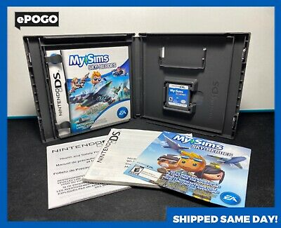 """£9.40 • Buy My Sims """"Sky Heroes"""" (Nintendo DS, DSi Xl, 3DS) CIB Video Game Shipped Today! ✅"""