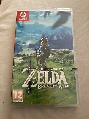 AU43.26 • Buy The Legend Of Zelda Breath Of The Wild Nintendo Switch Game Brand New Sealed 083