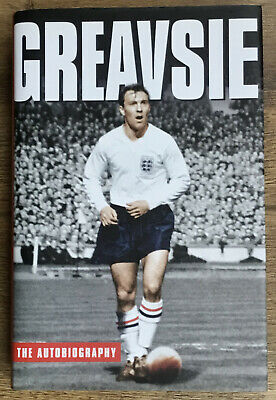 £74.95 • Buy Jimmy Greaves - Greavsie The Autobiography - Hand Signed & Presented In Gift Box