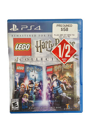 AU25 • Buy LEGO HARRY POTTER COLLECTION  PS4 GAME With Instruction Booklet