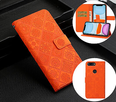 AU6.50 • Buy Oneplus 5T Embossed Pu Leather Wallet Case Ethnic