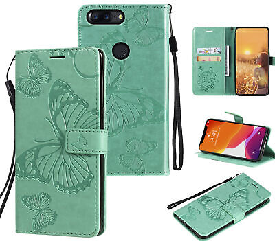 AU6.50 • Buy Oneplus 5T Embossed Pu Leather Wallet Case Butterfly