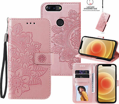 AU6.50 • Buy Oneplus 5T Embossed Pu Leather Wallet Case Petals