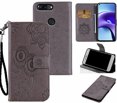 AU6.50 • Buy Oneplus 5T Embossed Pu Leather Wallet Case Owl