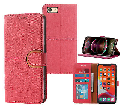 AU7.45 • Buy Oppo A39 A57 Pu Leather Wallet Case Canvas Finish Combined