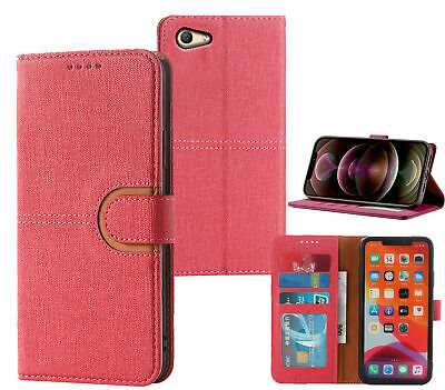 AU7.45 • Buy Oppo A59 F1s Pu Leather Wallet Case Canvas Finish Combined