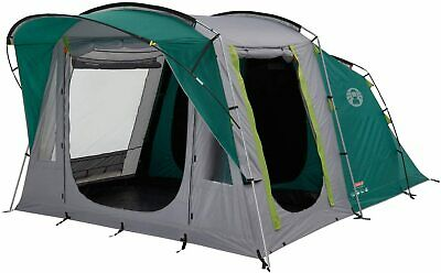 £40 • Buy Coleman Tent Oak Canyon 4, 4 Person Family Tent With BlackOut Bedroom Technology