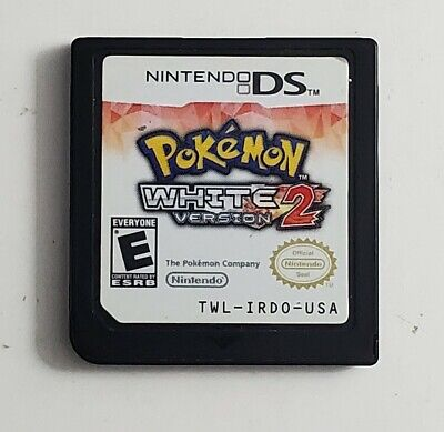 $100 • Buy Pokemon White Version 2 For Nintendo DS, 2012 Authentic Cartridge Only!
