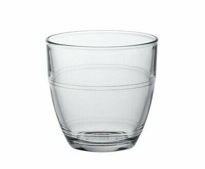 £8.35 • Buy DURALEX GIGOGNE  Clear Toughened Glass Tumbler Microwave Safe 16cl Pack Of 6 UK