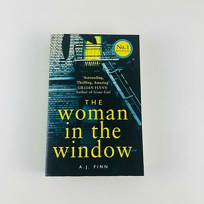 AU16.95 • Buy The Woman In The Window By A. J. Finn Fiction 2018 Large Paperback Book