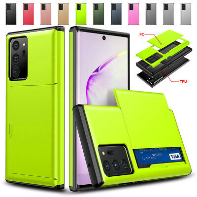 AU10.45 • Buy For Samsung Galaxy Note 20 10 S20 S10 S9 S8 Plus Wallet Card Holder Case Cover