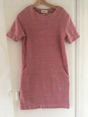 £10 • Buy Toast Dress 100% Cotton Thick Cosy Sweatshirt Material - Size 8