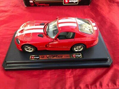 £9.99 • Buy Burago Dodge Viper Gts Coupe [1997], 1:24 Scale Diecast Model; Excellent Order
