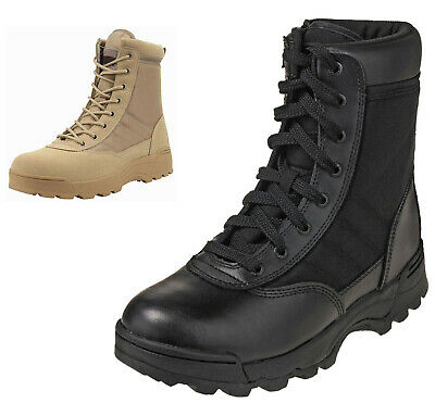 £17.99 • Buy Mens Security Police & Army Combat Military Work Boots Size 6 To 11 UK