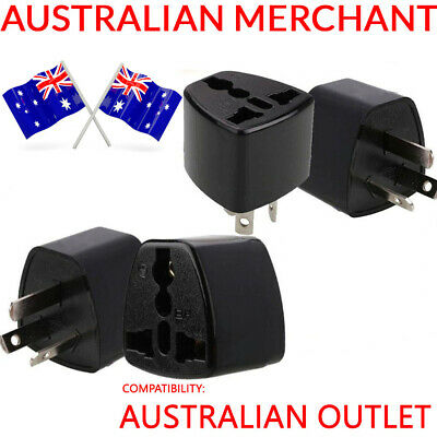 AU5.45 • Buy Universal Adapter Travel UK To AU Converter Power Wall Plug Charger 3 Pin