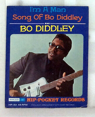 £3.66 • Buy BO DIDDLEY 3  Flexi Disc 45 I'm A Man/Song Of Bo Diddley HIP POCKET