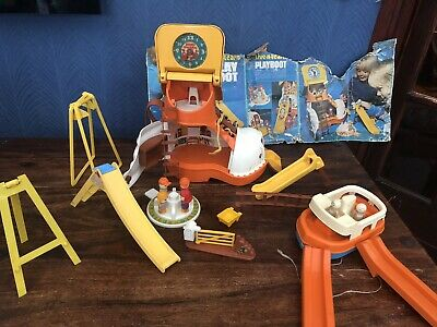 £19.50 • Buy Vintage 1977 Matchbox Play Boot Live N Learn Toy Playset With Accessories!